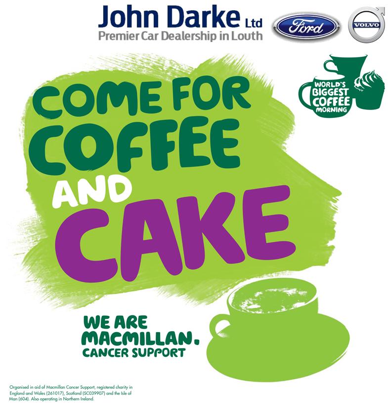 Worlds Biggest Coffee Morning John Darke Ltd
